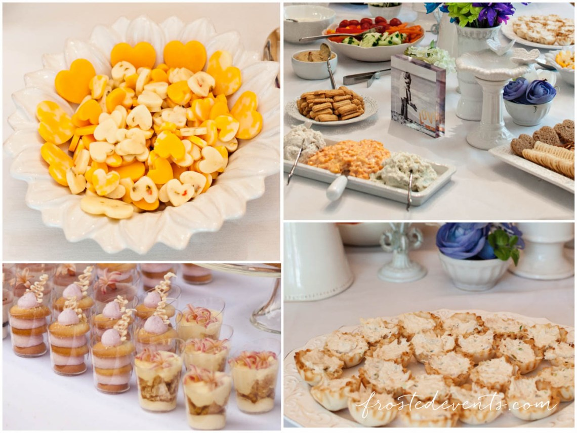 how to plan a bridal shower bridal shower menu and food ideas
