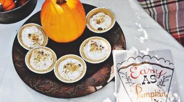 Effortless Pies Fall Favorites Pumpkin Pie Recipe with Dannon Oikos Keebler and Reddi-wip via @frostedevents frostedevents.com #pumpkinpie #thanksgivingrecipe