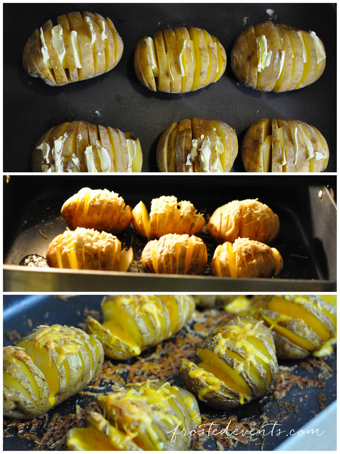 Dinner Party Snack Ideas Part - 33: Hasselback Potatoes Recipe For A Fall Dinner Party With Barber Stuffed  Chicken @frostedevents @barberfoods