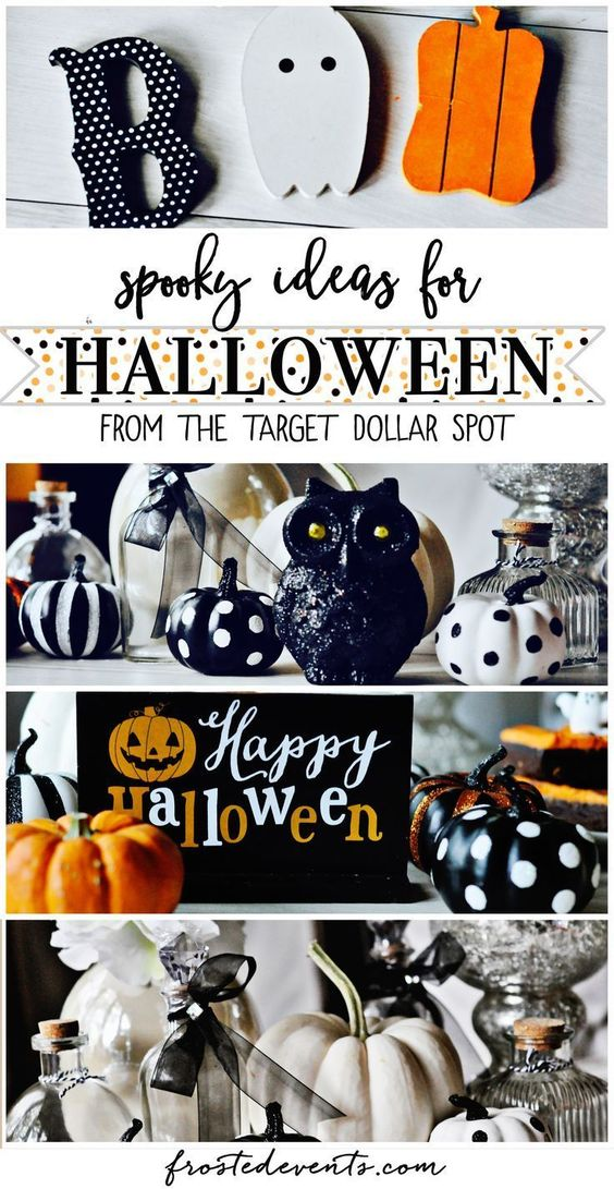 Halloween Decor Ideas and inspiration via @frostedevents spooky halloween decorations