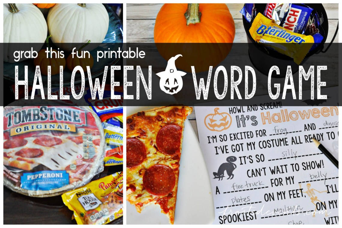 Halloween Games for Kids + Pumpkin Cookie Bars Recipe