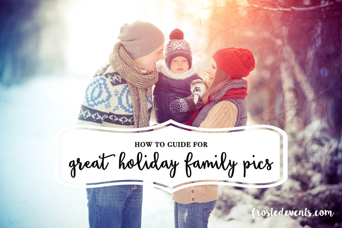 Awesome Family Christmas Card Ideas www.frostedevents.com