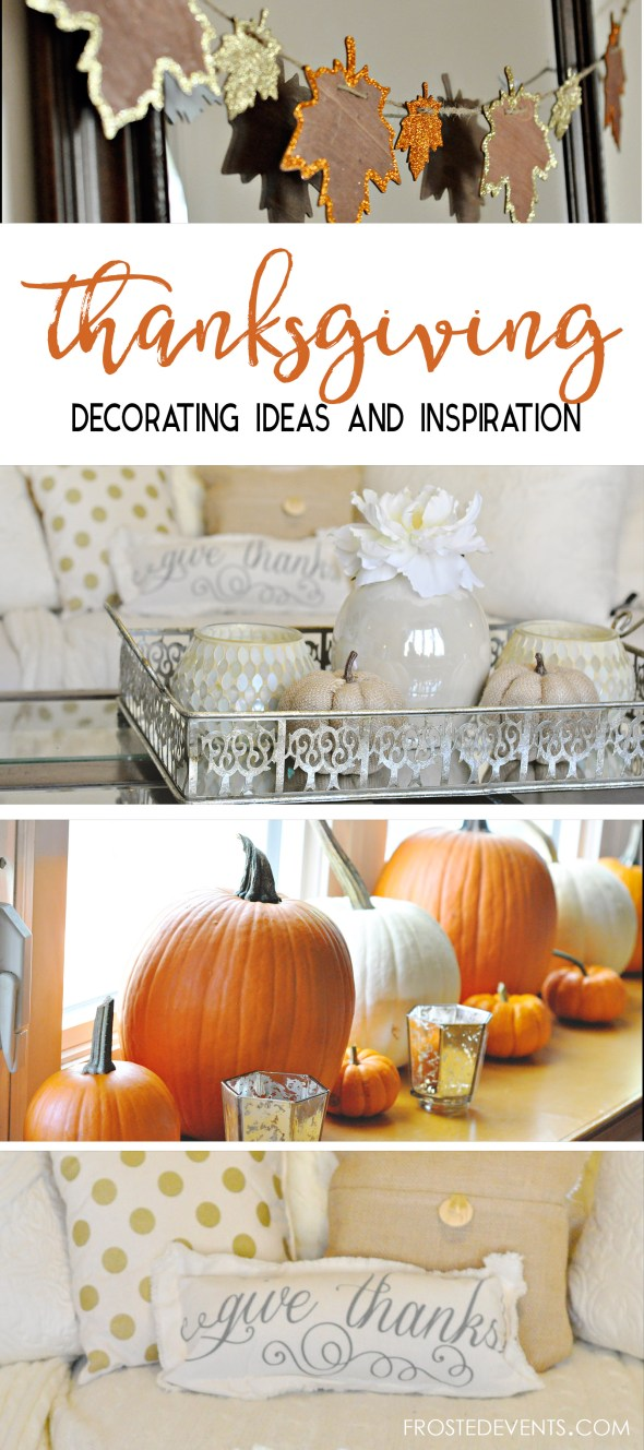 Thanksgiving Decor Ideas Fall Festive Decor frostedevents.com @frostedevents