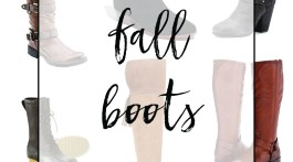 My Favorite Fall Boot Styles and Most Popular Boots This Season