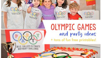Olympics Theme Party By Frosted Events Kids Party Ideas