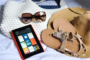 Travel Essentials Packing List for Family Vacation Amazon Fire Tablet @frostedevents