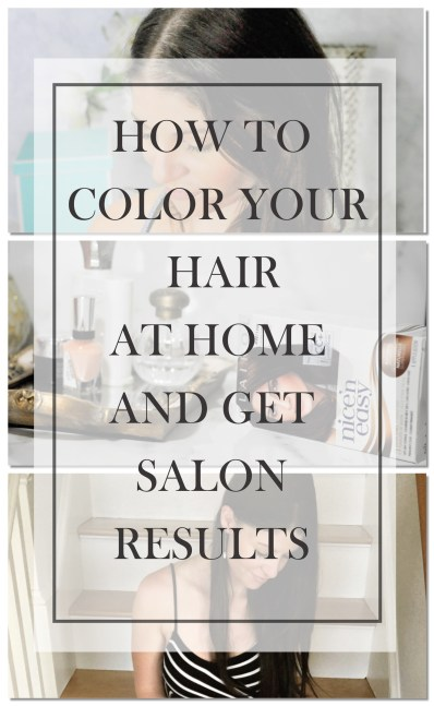 How to Color Your Hair At Home Coloring Gray Hairs Naturally with Clairol