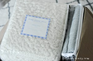 Bedroom Makeover with Annie Selke Collection Fine Linens and Bedding by lifestyle blogger Misty Nelson @frostedevents