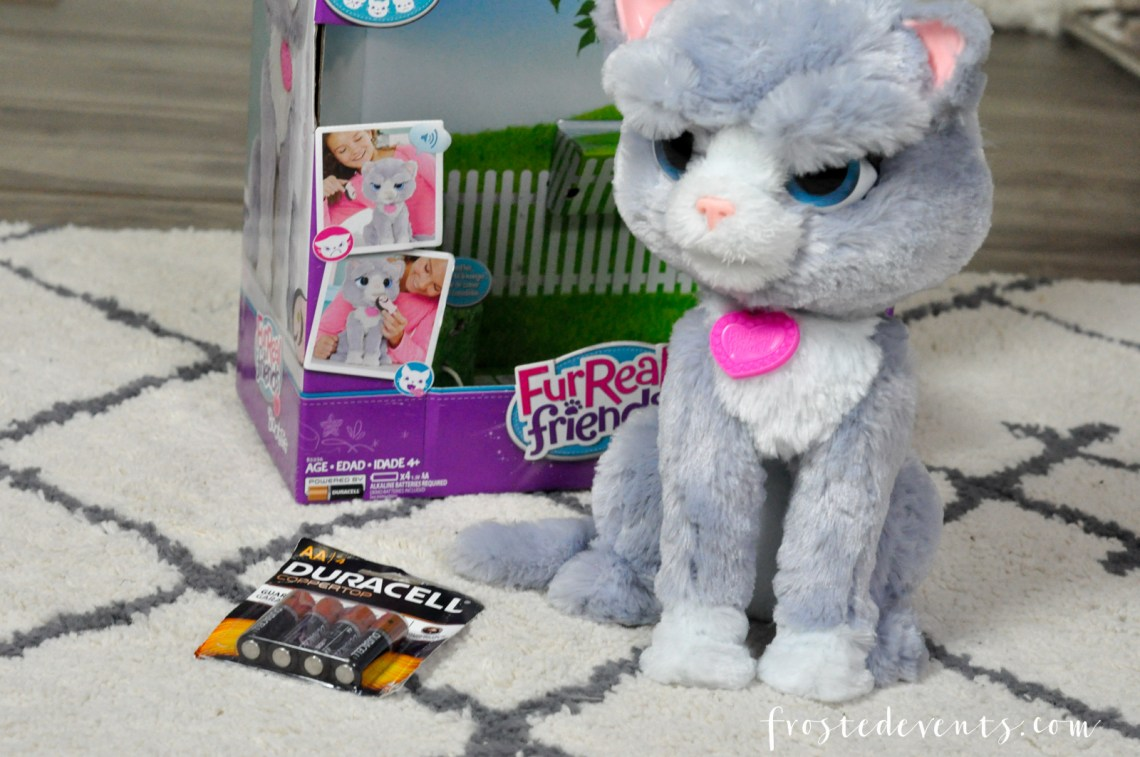 "Hot Christmas Toys 2016 FurReal Friends from Hasbro Torch and Bootsie Don't Forget the Batteries Duracell and Toys""R""Us Christmas Shopping"