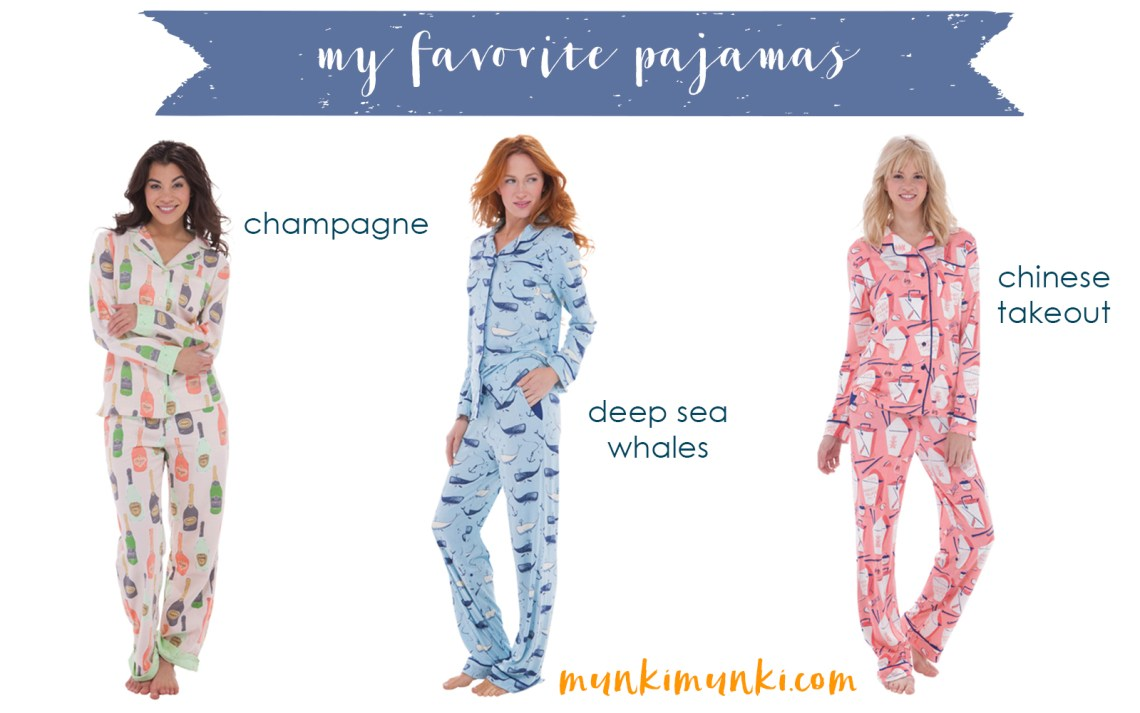 Cyber Monday Shopping Gifts for Mom, Gifts for Her, Gifts for Girls, Gifts for Kids Holiday Gift Guide via Misty Nelson @frostedevents These pajamas from Munki Munki are so cute and cozy... #munkimunki
