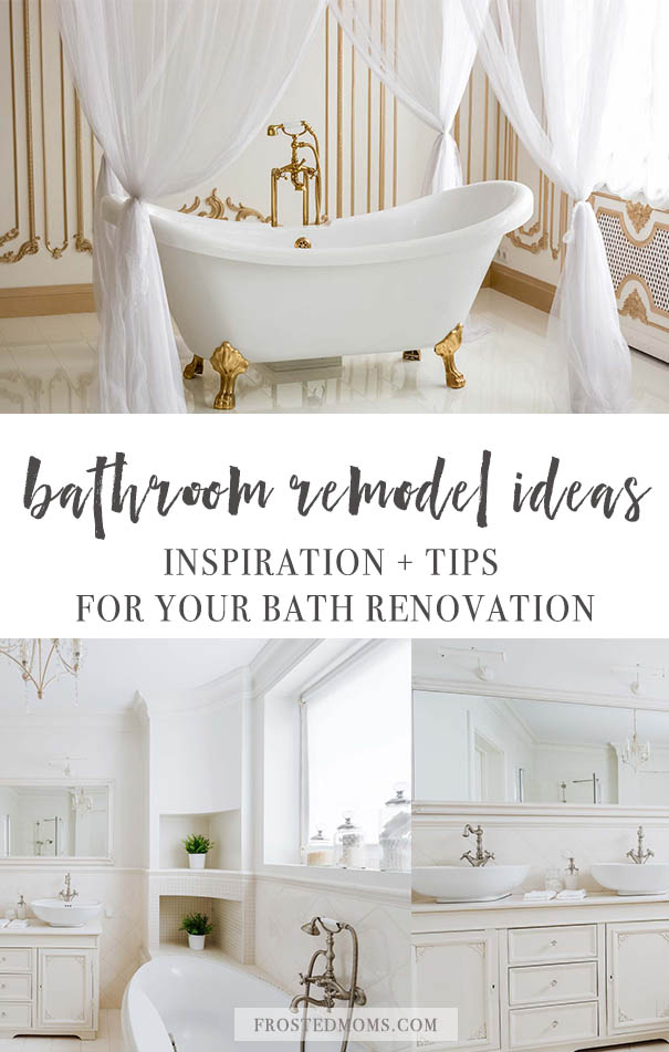 Spectacular Bathroom Remodeling Ideas and Inspiration Tips to read before you start your next home remodel