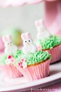 Easter Cupcakes & Easter Dessert Ideas - Easter Ideas via Misty Nelson frostedmoms.com @frostedevents