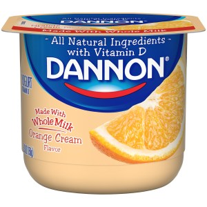 Dannon Whole Milk - Orange Cream