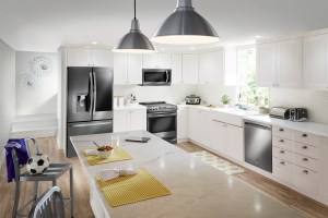 Best Buy Appliances Remodeling Sales Event LG Contemporary Kitchen
