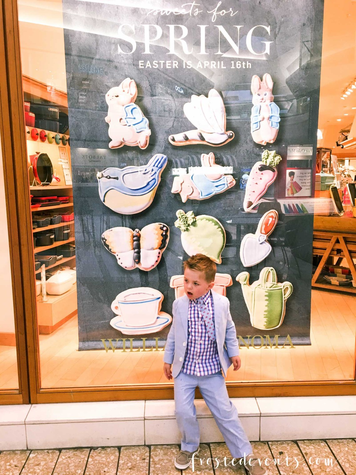 Williams Sonoma Easter Cookies  Fair Oaks Mall Easter Treats via Misty Nelson frostedMOMS.com @frostedevents