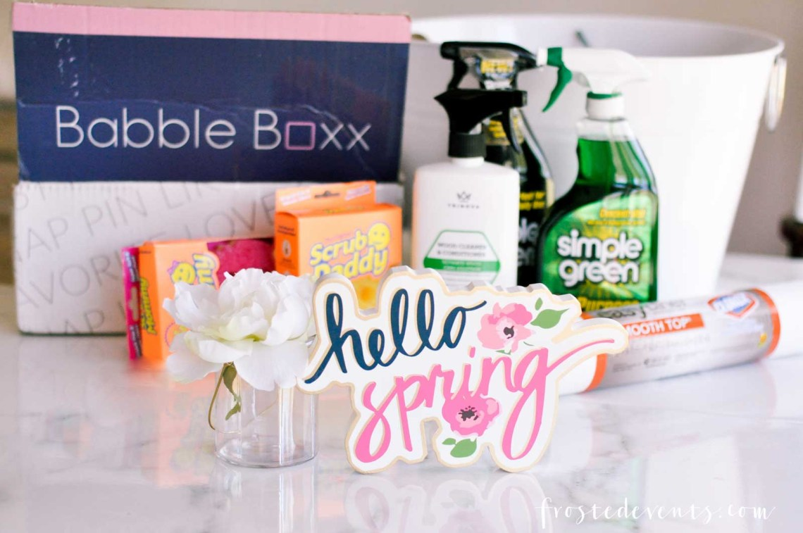 Spring Cleaning Hacks To Get Your Home Sparkling via Misty Nelson frostedMOMS.com @frostedevents