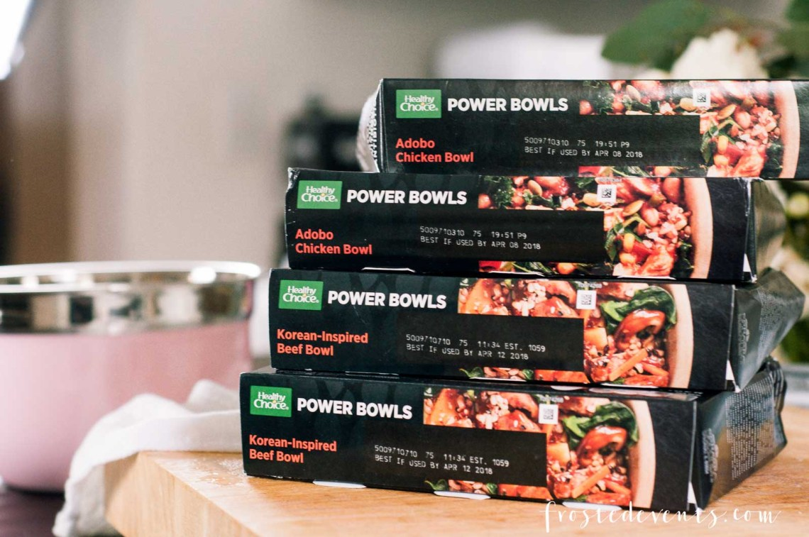 Healthy Choice Power Bowls Healthy Meals Womens Health Month v