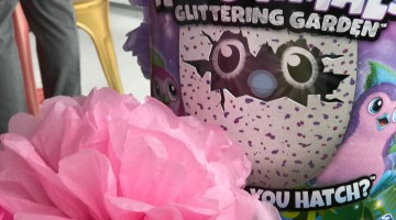 Hatchimals Glittering Garden Party -- How to Throw Your Own Hatchimals Glittering Garden Party-- popular kids toys via Mom Blogger Misty Nelson youtube kids toy vloggers