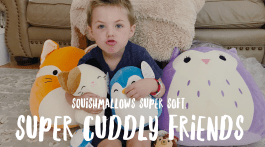 Squishmallows Kids Toy Review by Misty Nelson - cool kids toys and holiday gift guides , toy bloggers