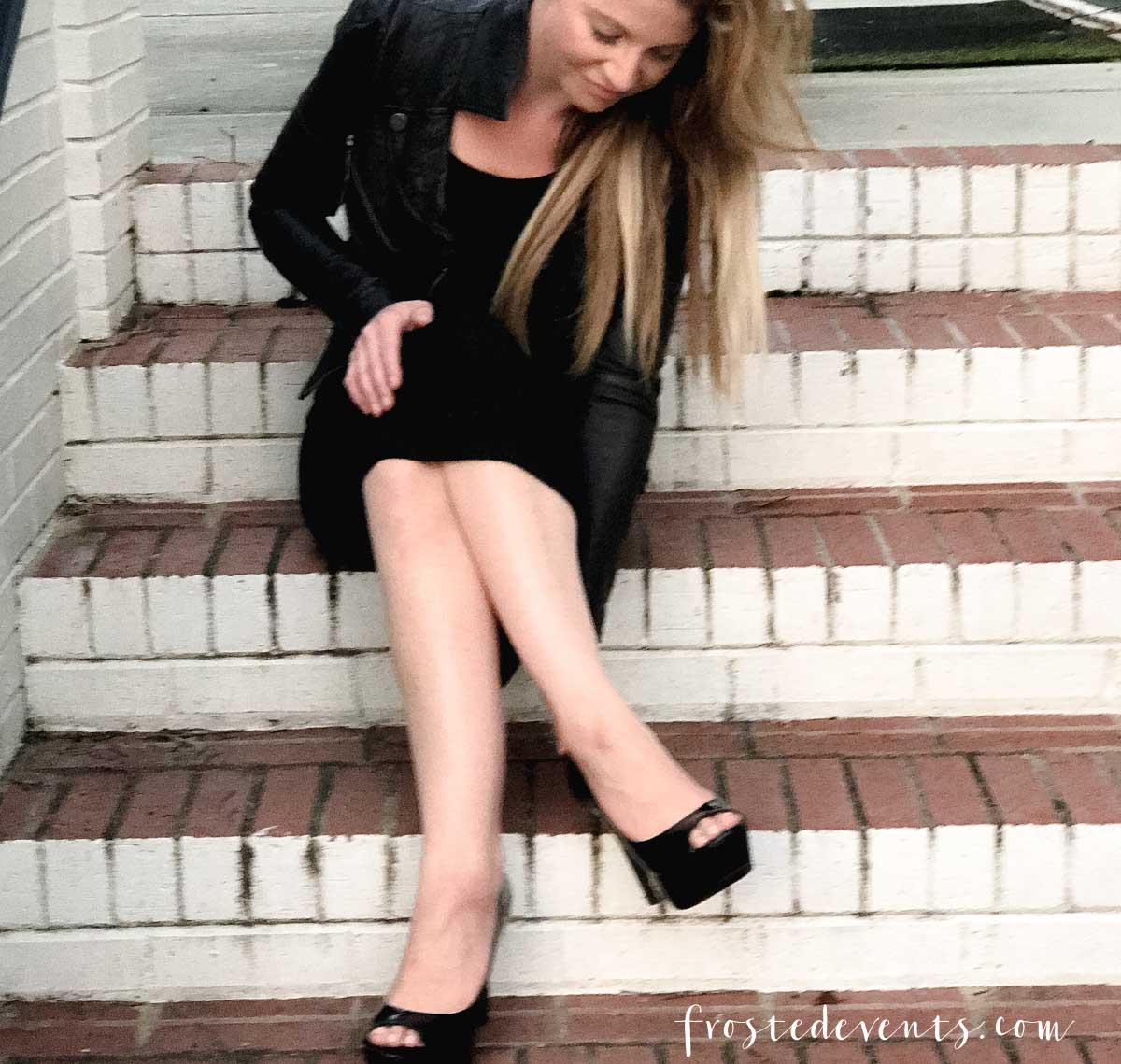 10cfe9d4a84d2 New York Fashion Week NYC September Fashion Blogger Style Influencer Misty  Nelson on Wearing High Heels