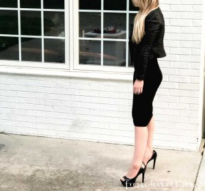 New York Fashion Week NYC September Fashion Blogger Style Influencer Misty Nelson on Wearing High Heels