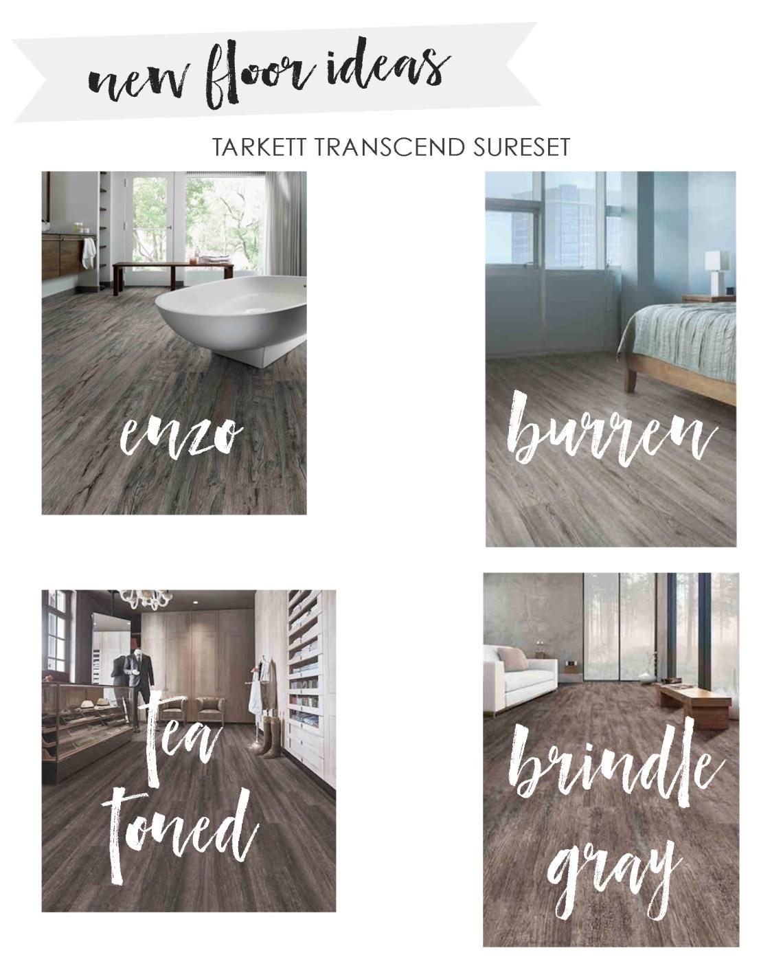 Vinyl Plank Flooring - New Flooring - Vinyl Flooring Wood Floors by Tarkett - Home Design via Misty Nelson frostedblog.com @frostedevents