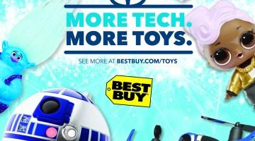 Best Buy Holiday Gift Guide - Hot Toys 2017 - Misty Nelson Blogger, Tech Blog via @frostedmoms