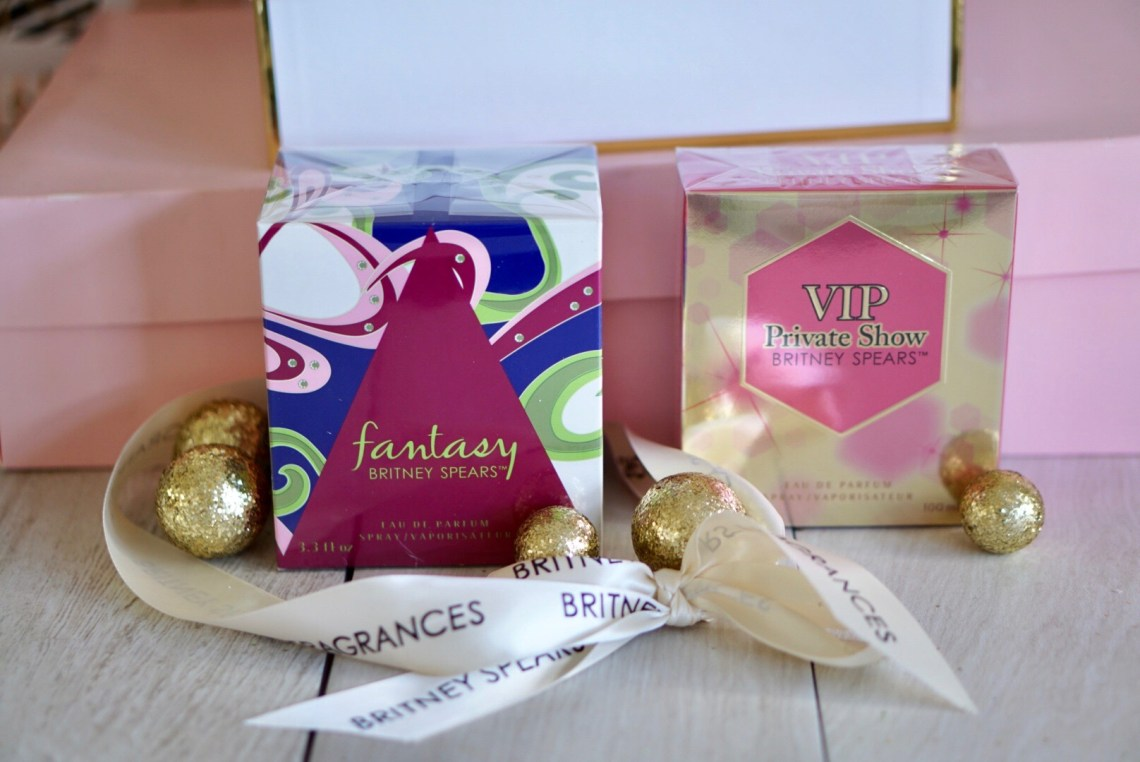 Britney Spears Perfumes-- Great Holiday Gift for Her --- Misty Nelson blogger and influencer @frostedevents