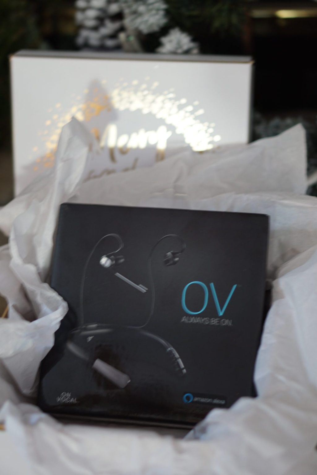 OV Smart Headphones Gifts for Him Holiday Gift Guide via Misty Nelson, blogger and influencer @frostedevents