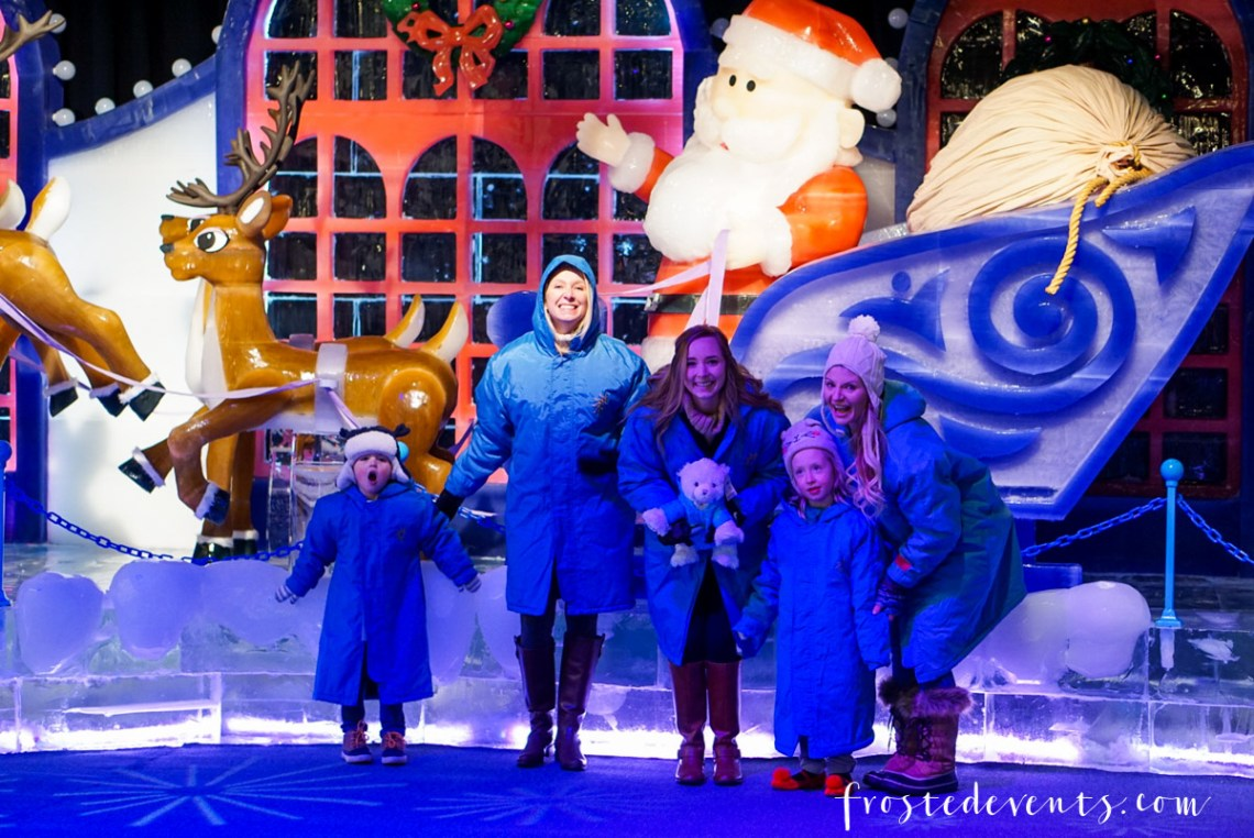 Gaylord National Harbor ICE! 2017 Christmas event family fun in the washinton D.C. area via Misty Nelson, mom blogger and influencer