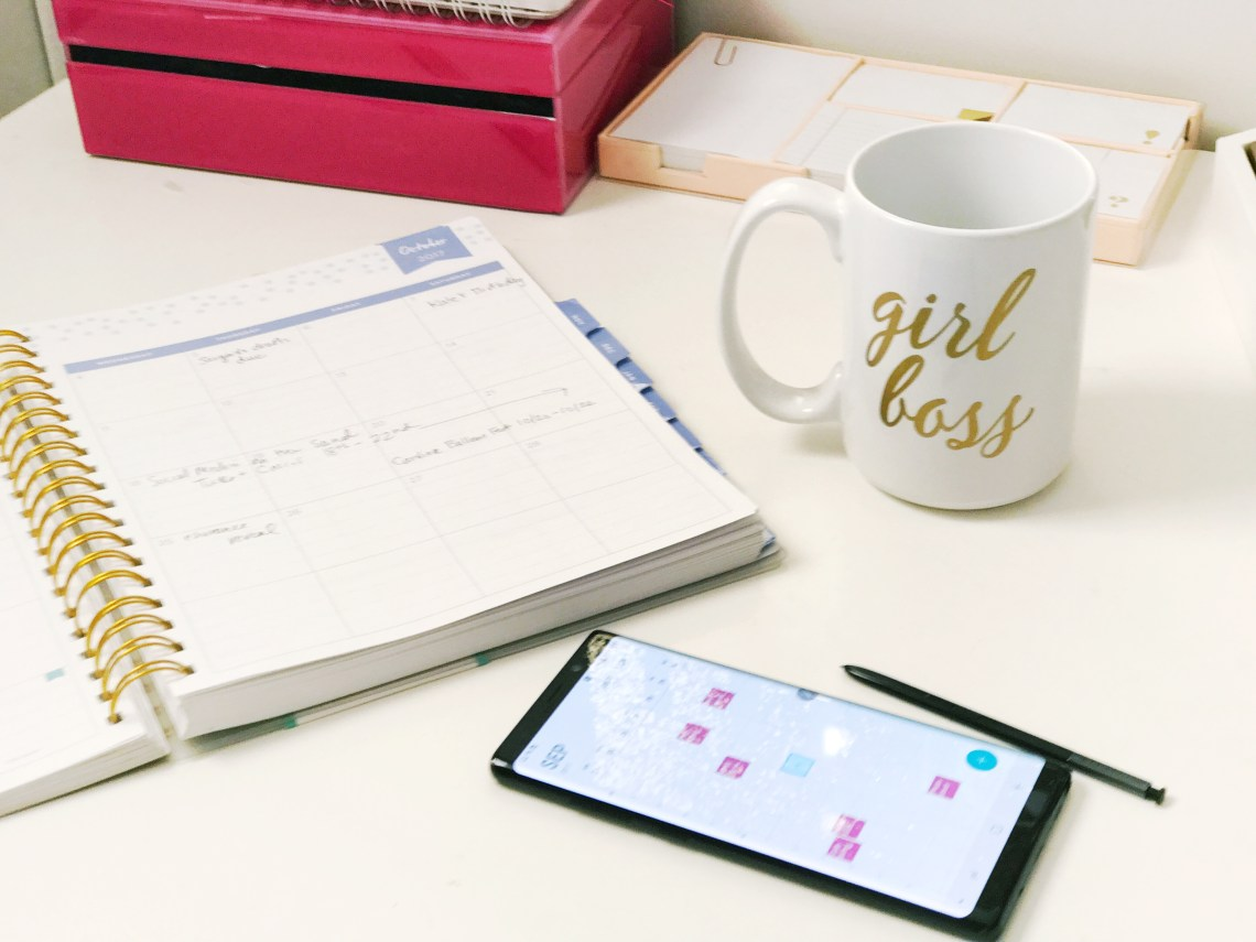 Get Organized - How to Organize Your Life in 2018 - Goals via Misty Nelson @frostedevents frostedblog mom blogger, influencer, lifestyle blogger