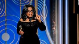 Oprah's Golden Globes Speech - Oprah Winfrey inspiring acceptance speech 2018 full transcript #Omaginsiders