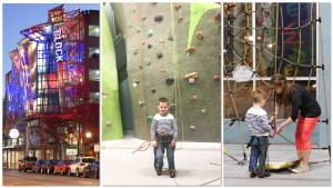 Chattanooga Tennessee Dinner at Puckett's Grocery and Rock Climbing at High Point Rock Climbing Center via Misty Nelson, family travel blogger and social influencer funfamilytravelblog & frostedblog