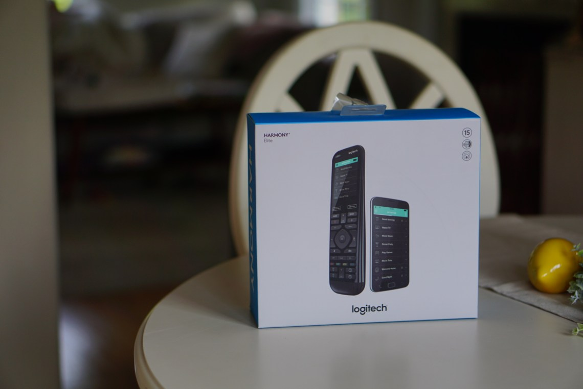 Logitech Harmony Elite + Amazon Alexa from Best Buy - Control your whole home with one remote via Misty Nelson , Best Buy blogger