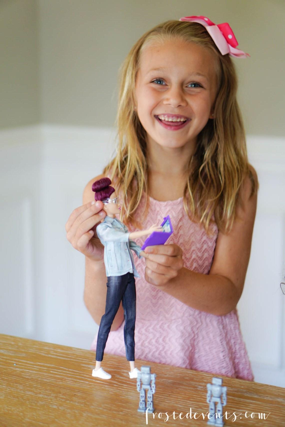 Barbie Career dolls - New Robotics Engineer Barbie Inspires STEM learning - via Misty Nelson, frostedblog frostedevents.com