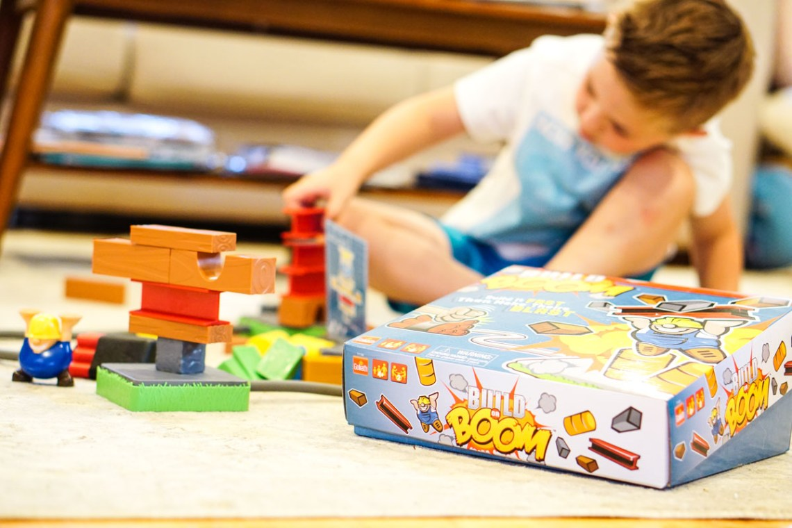 Fun Games for Kids -Family Game Night Picks - Build or Boom via Misty Nelson Frosted Blog frostedevents.com #kidsgames #toys #kidstoysFun Games for Kids -Family Game Night Picks - Build or Boom via Misty Nelson Frosted Blog frostedevents.com #kidsgames #toys #kidstoys