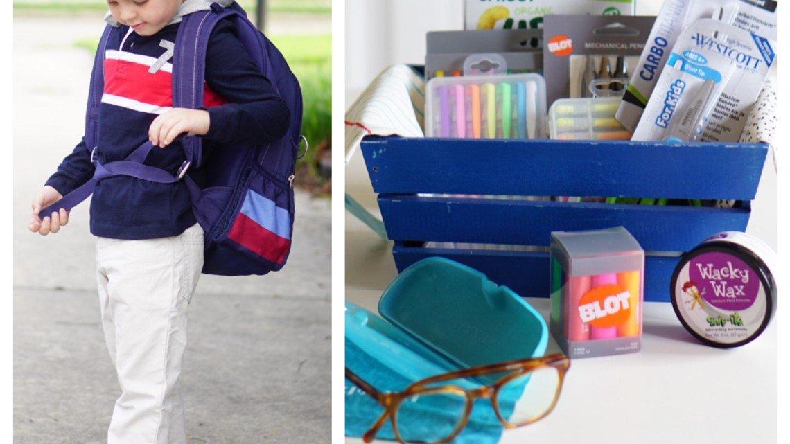 Back to School List of Supplies -Babbleboxx and Frosted Blog @frostedevents