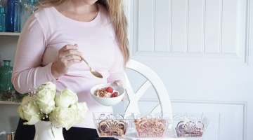 FAGE Yogurt Bar - Greek Yogurt Bowls at home via Misty Nelson, Frosted Blog @frostedevents
