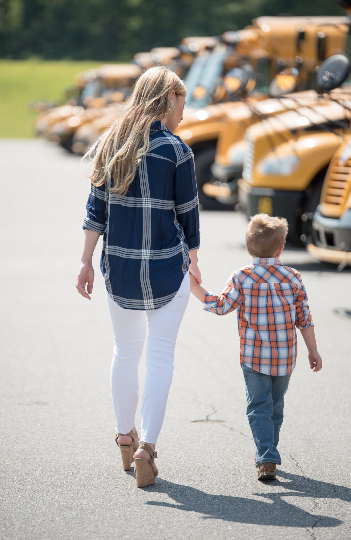 School Bus Safety Tips - Propane School Buses via Misty Nelson, Frosted Blog - motherhood and parenting blog