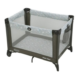 Graco Pack and Play Portable Play Yard - Best pack and play on a budget - Baby registry essentials via Misty Nelson mom blogger, motherhood and pregnancy influencer