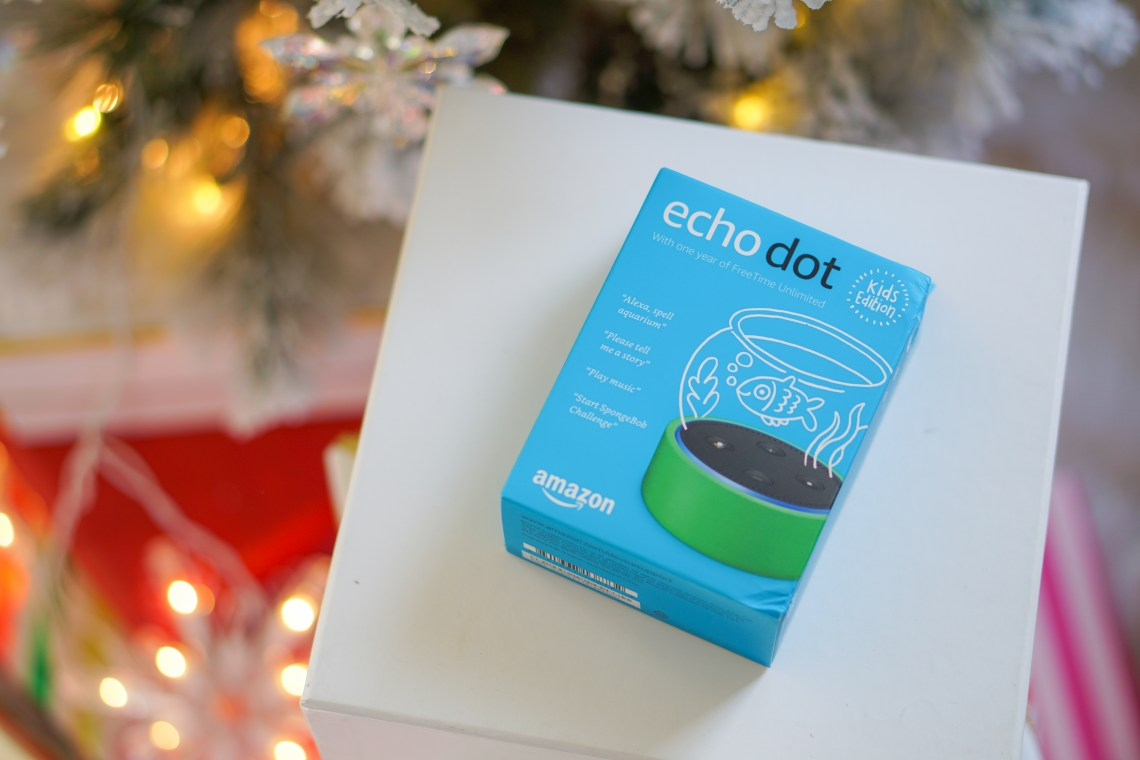 Holiday Traditions the New Way with Amazon Echo Dot Kids Edition and Echo Show