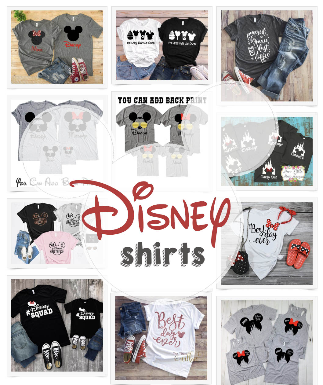 Disney Family Shirts - Cute Disney World Shirts
