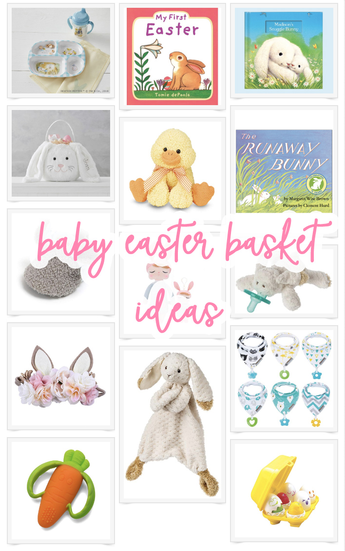 Baby Easter Basket Ideas - Pinterest