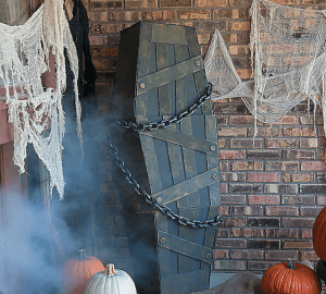Shaking Coffin Halloween Decoration