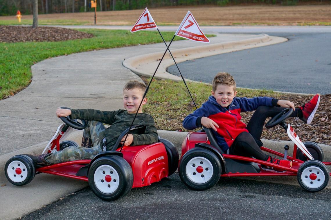 Radio Flyer Ultimate Go Kart - Race Party Playdate