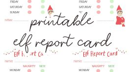 Elf on the Shelf Printables Report Card - Free Printable Elf on the Shelf Ideas via Misty Nelson, frostedevents