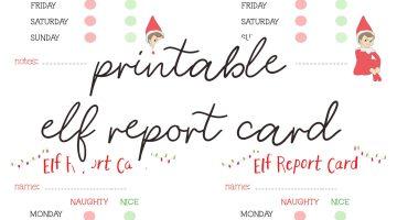 Elf on the Shelf Printables Report Card - Free Printable Elf on the Shelf Ideas via Misty Nelson, frostedevents