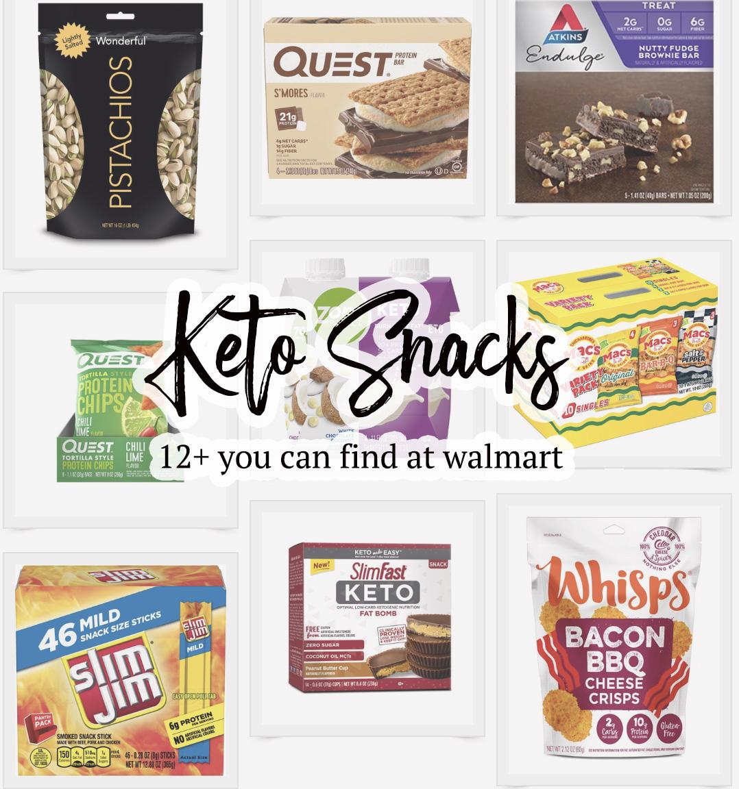 Keto snacks walmart - A list of keto friendly snacks