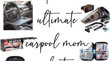 Car Accessories - Ultimate Carpool Mom List to keep car clean and organized