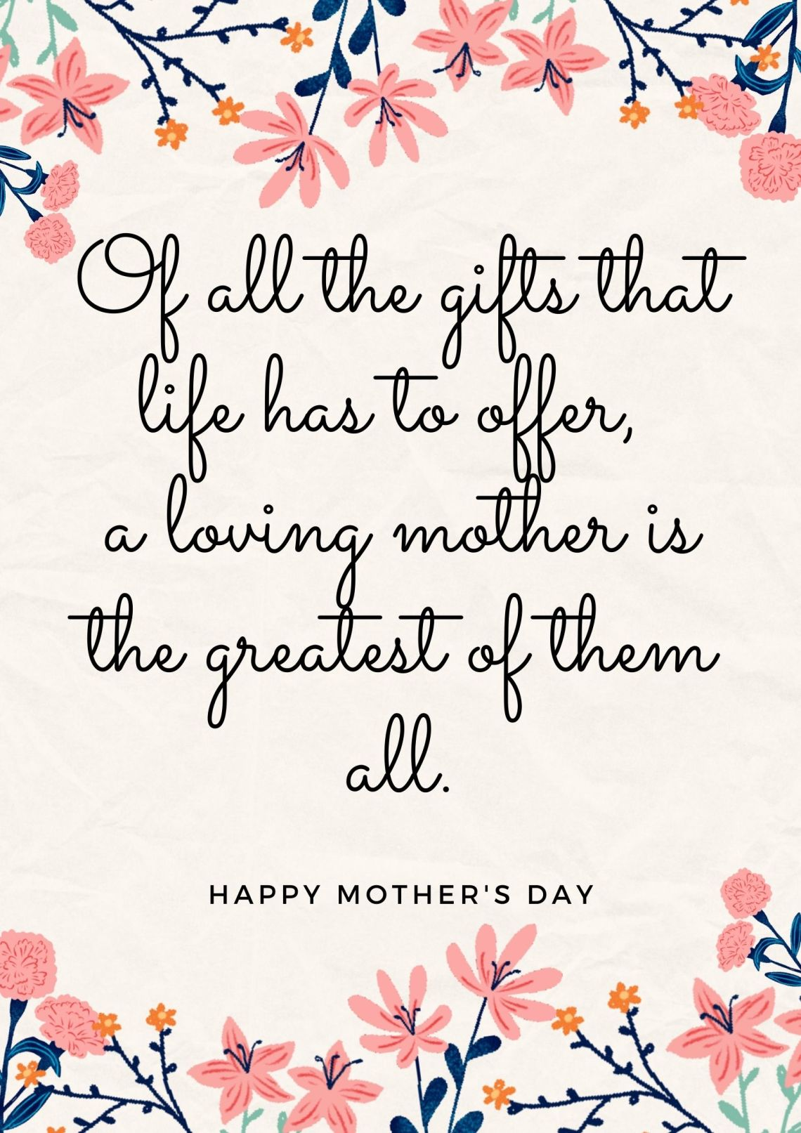 Mother's Day quotes and captions